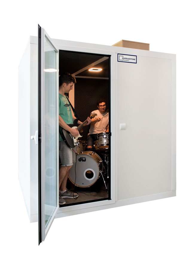 Large soundproof booth