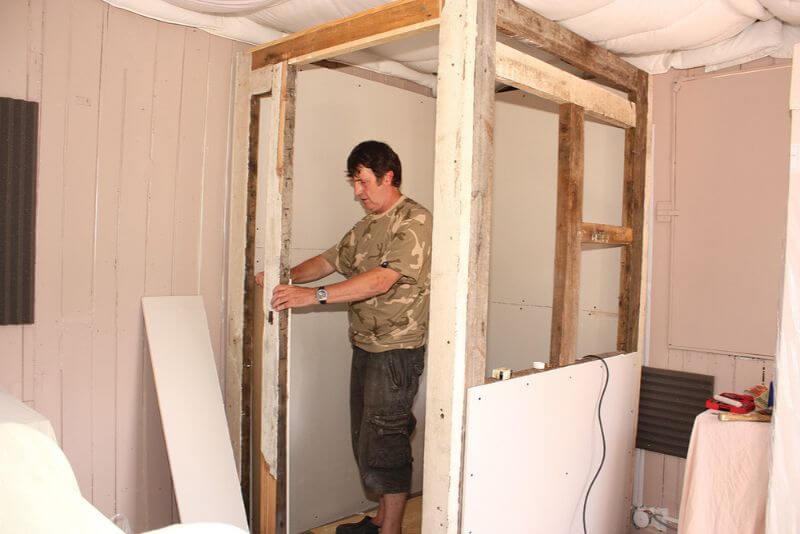 como construir cabina casera
