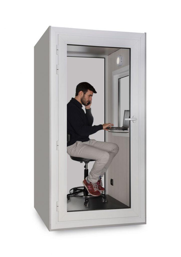 cabina insonora oficina