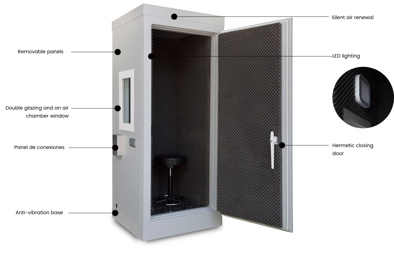 basic acoustic booth