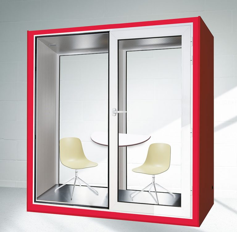 office pod with division