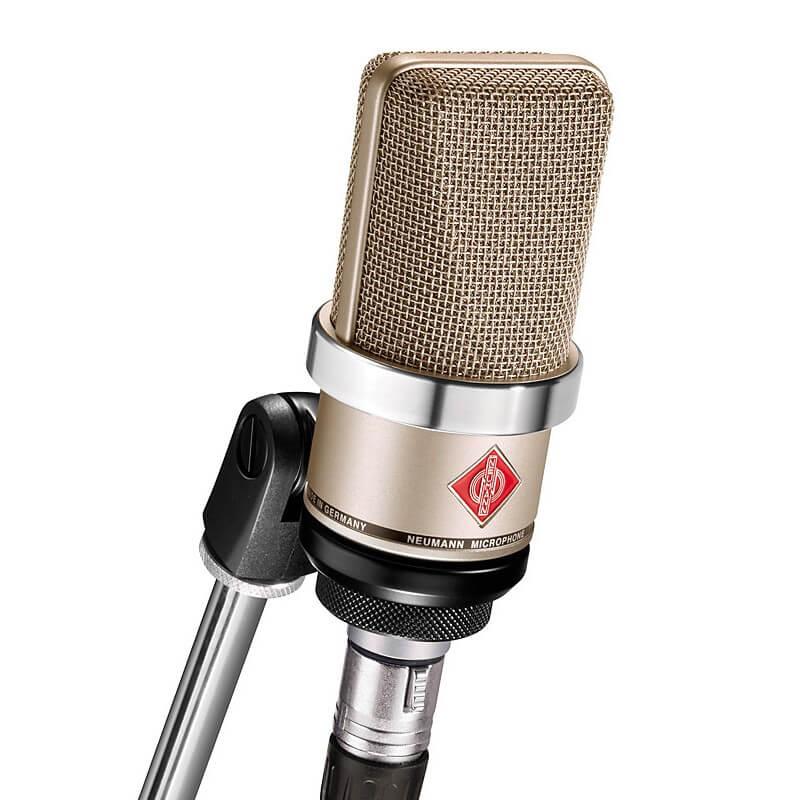 cabina grabación microfono condensador